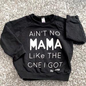 Toddler pull over sweatshirt